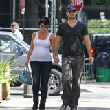 Im August sind Jennifer Love Hewitt und Brian Hallisay in New York unterwegs.