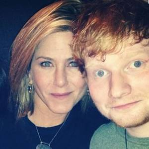 Jennifer Aniston, Ed Sheeran