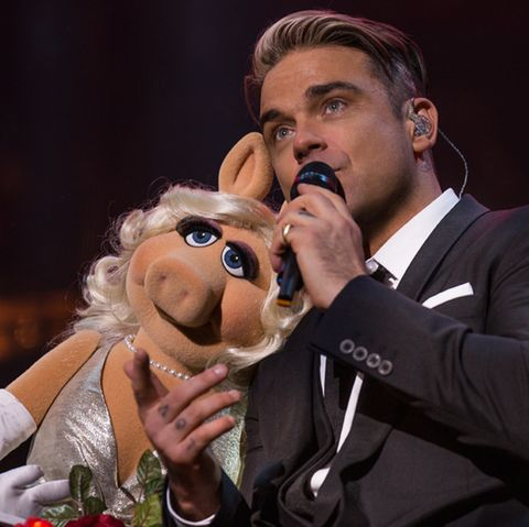 Miss Piggy, Robbie Williams
