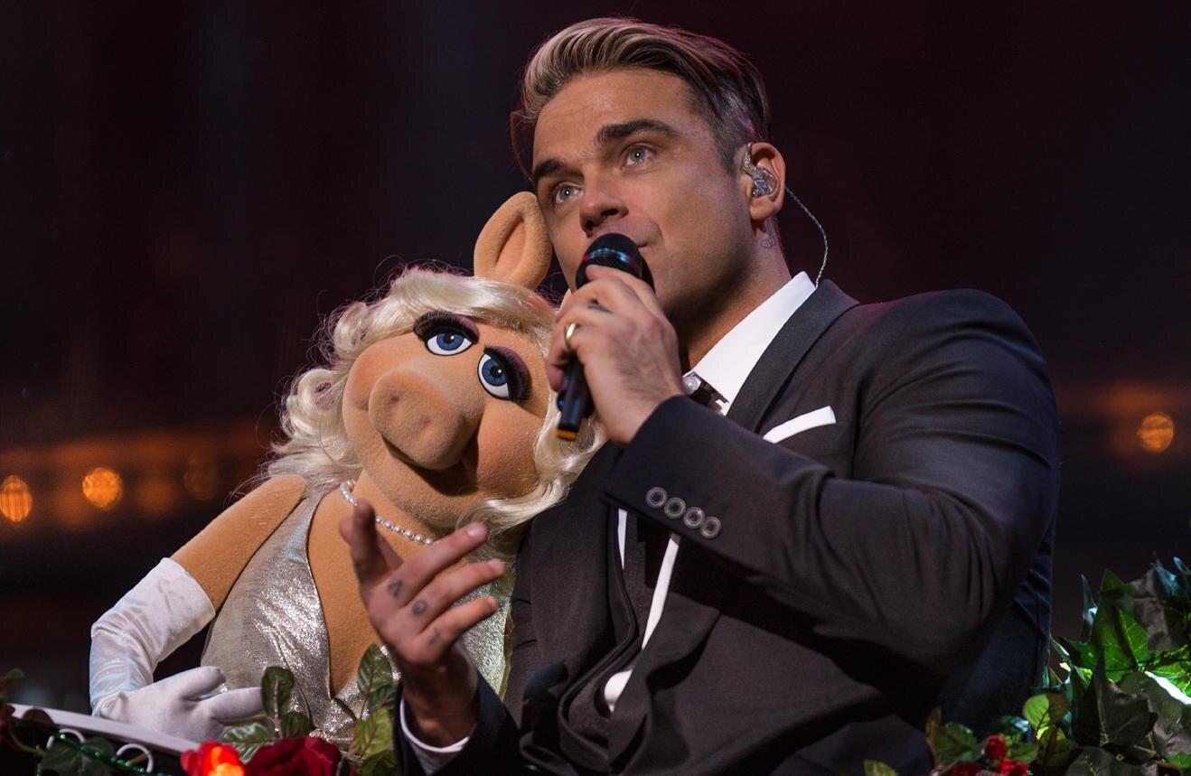 Miss Piggy, Robbie Williams