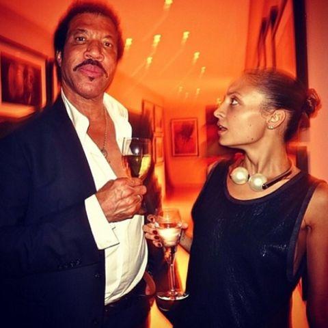 Lionel und Nicole Richie