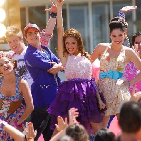 """Stars aus der Telenovela """"Violetta"""""""