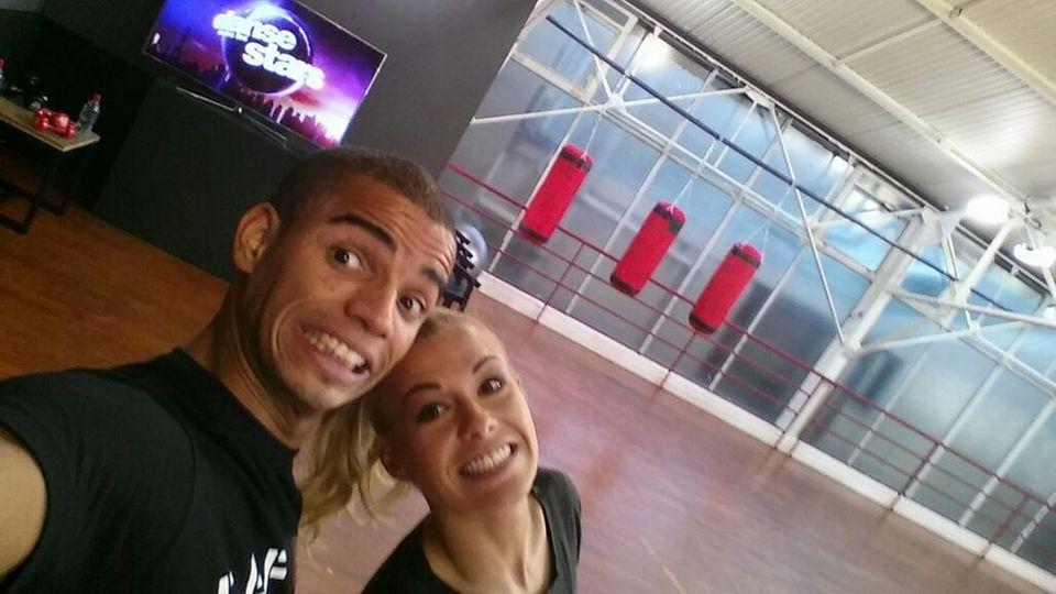 Brahim Zaibat und seine Tanzpartnerin Katrina Patchett