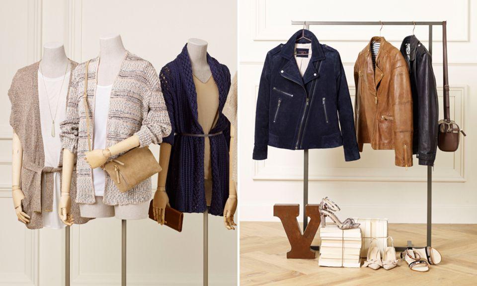 """Die Mode der """"Violeta""""-Kollektion gibt es ab Januar 2014 in den Größen 40 bis 52. Sie soll jungen, selbstbewussten Frauen nicht nur gut passen, sondern ihnen auch gefallen, so der Slogan."""