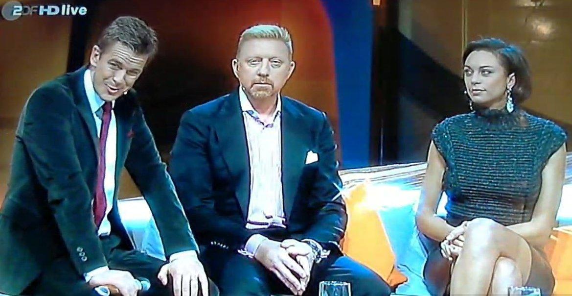Boris und Lilly Becker auf Markus Lanz' Couch: Es gab nichts zu verkünden.