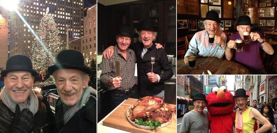 Beste Freunde für immer: Sir Ian McKellen und Sir Patrick Stewarts Abenteuer in New York