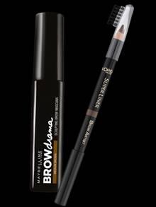 """Links: """"Browdrama""""-Mascara von Maybelline; Rechts: Wachsstift """"Brow Artist Shaper"""" von L'Oréal Paris; beide erhältlich ab Februar 2014"""