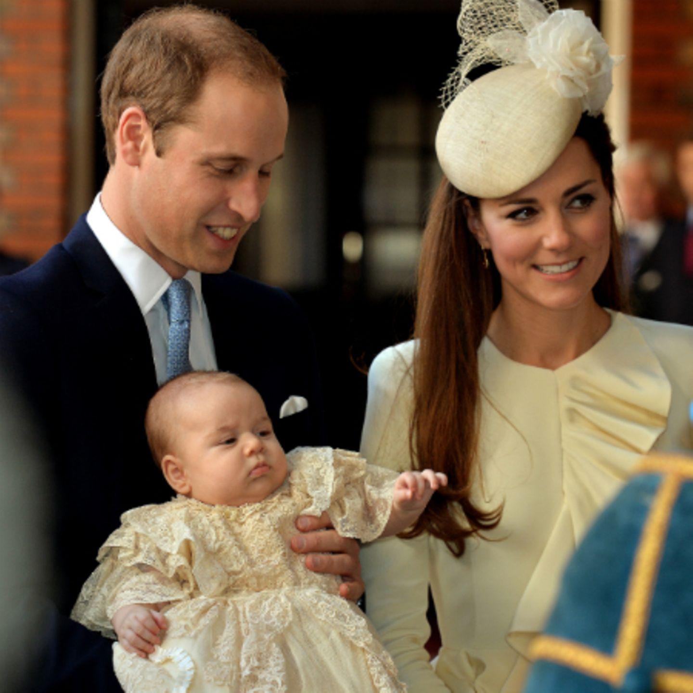 Prinz William, Prinz George, Herzogin Catherine