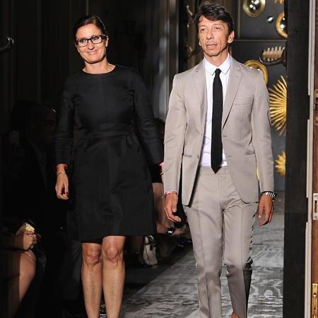 Maria Grazia Chiuri und Pierpaolo Piccioli