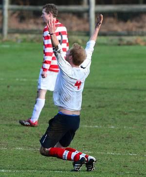 Prinz Harry konnte mit seinem Tor einen Ausgleich erzielen, das Spiel endete dann auch unentschieden.