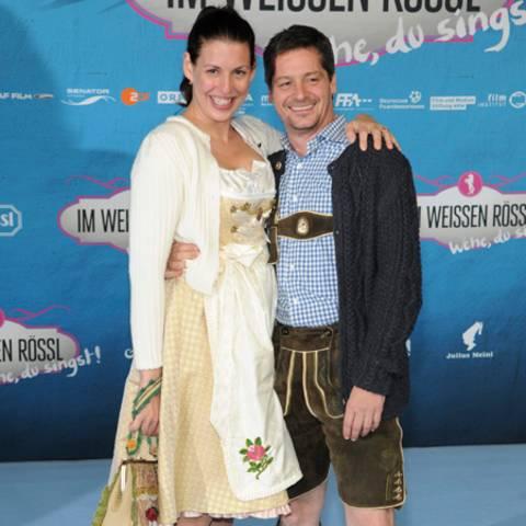 Elena Uhlig und Fritz Karl