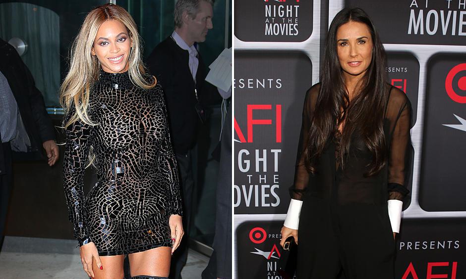 Bekennende Detox-Fans: Sängerin Beyoncé Knowles und Schauspielerin Demi Moore legen regelmäßig Fastenkuren ein, um ihren Körper zu reinigen.