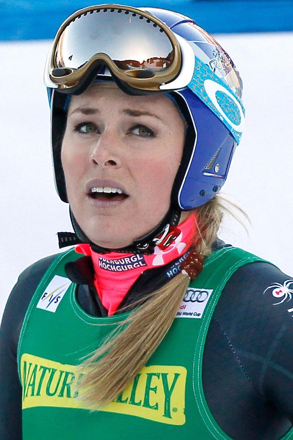 Lindsey Vonn muss ihre Olympiateilnahme absagen.