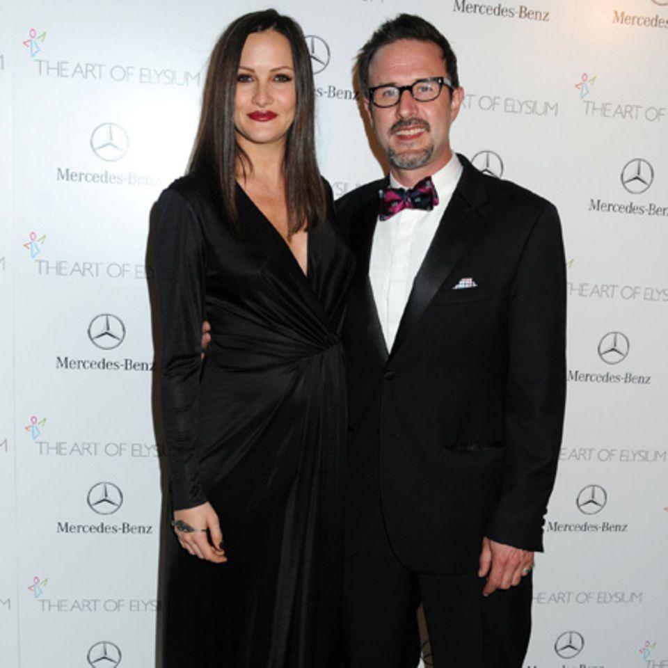 Christina McLarty und David Arquette