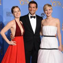 Amy Adams, Bradley Cooper, Jennifer Lawrence