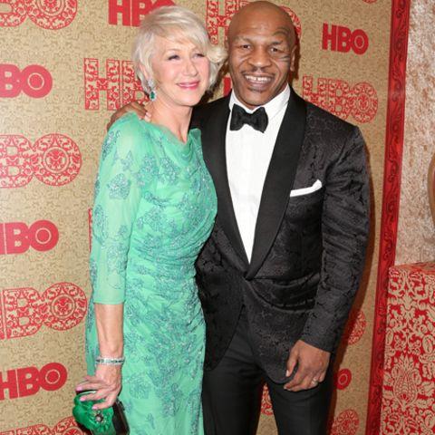 Helen Mirren und Mike Tyson