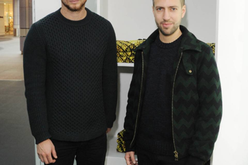 Peter Pilotto und Christopher De Vos