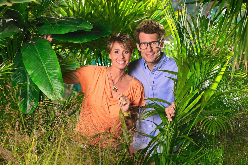 """Sonja Zietlow moderiert das """"Dschungelcamp"""" bereits seit sieben Staffeln und wird nun zum zweiten Mal von Daniel Hartwich unterstützt."""