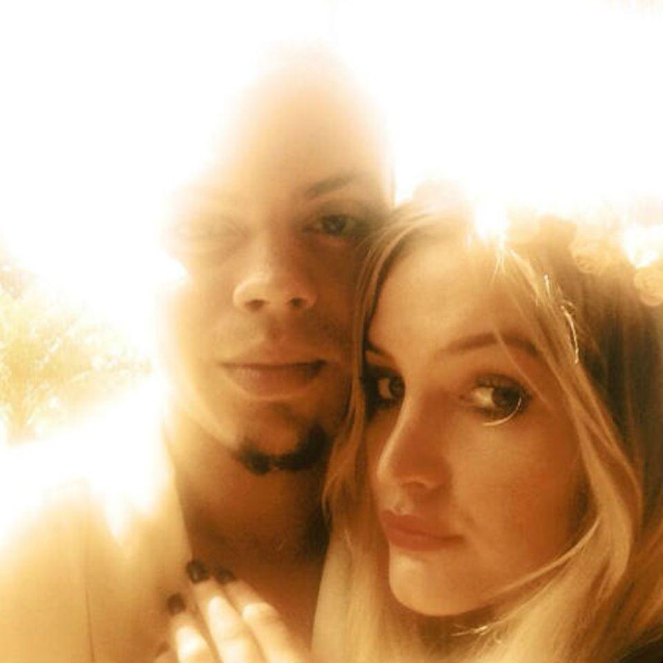 Evan Ross und Ashlee Simpson