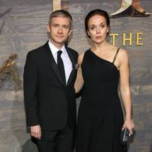 Martin Freeman und Amanda Abbington