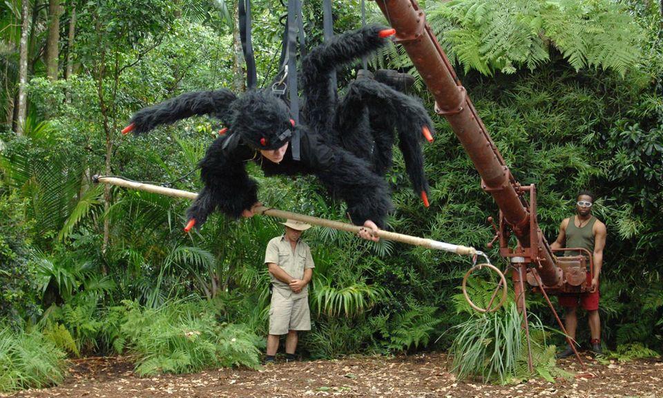 Dschungelcamp: Das Model und der Freak