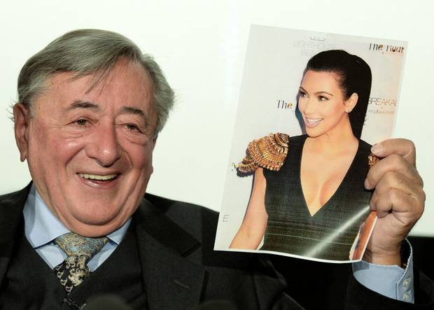Richard Lugner freut sich darauf, mit Kim Kardashian auf dem Wiener Operball zu tanzen.
