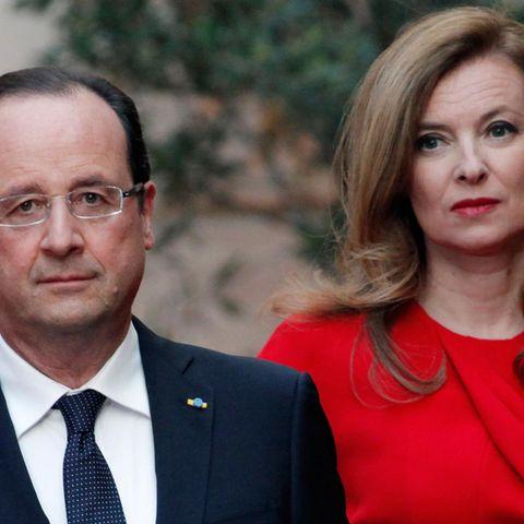 François Hollande, Valérie Trierweiler