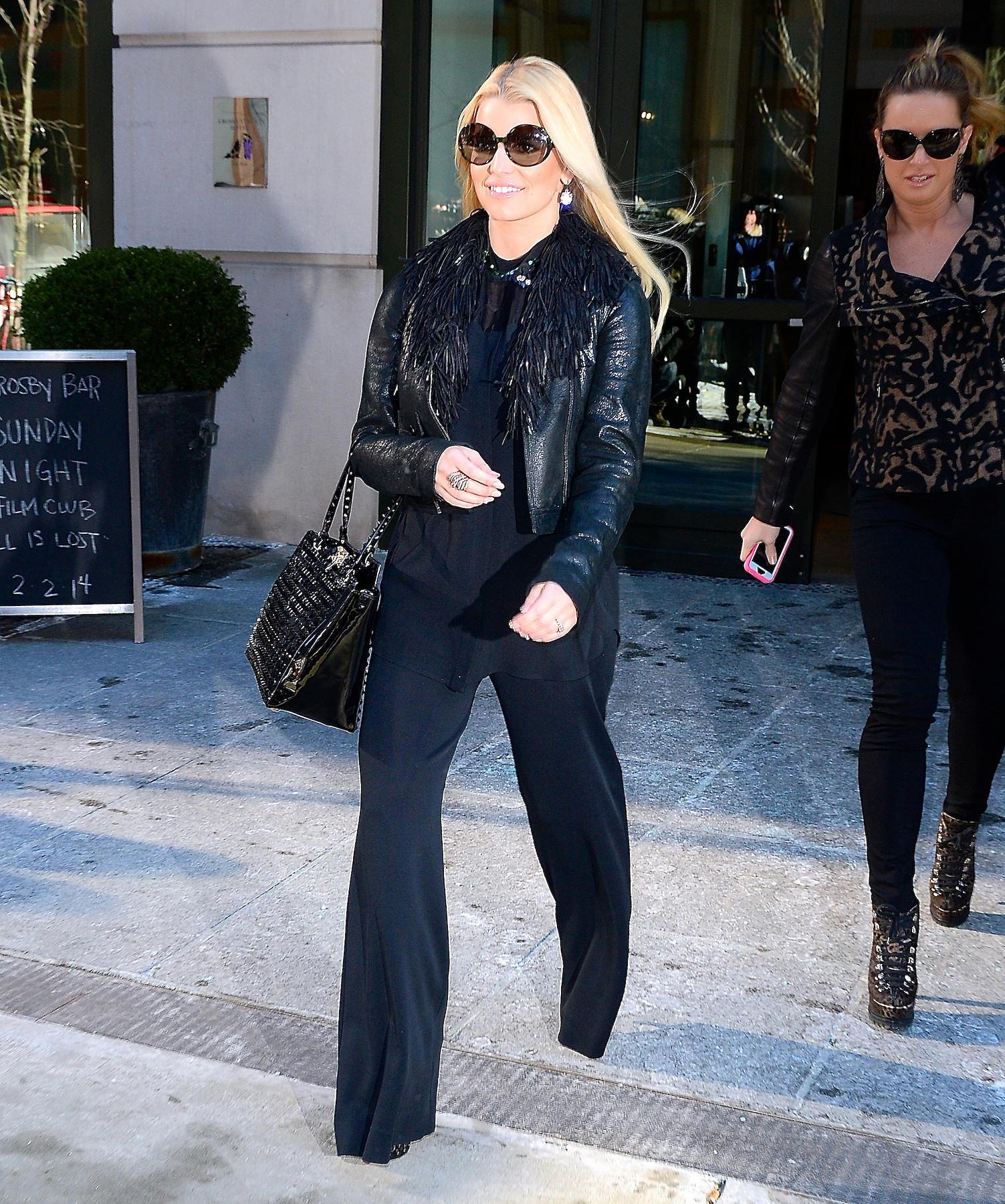 Jessica Simpson zeigt sich strahlend und deutlich erschlankt in New York
