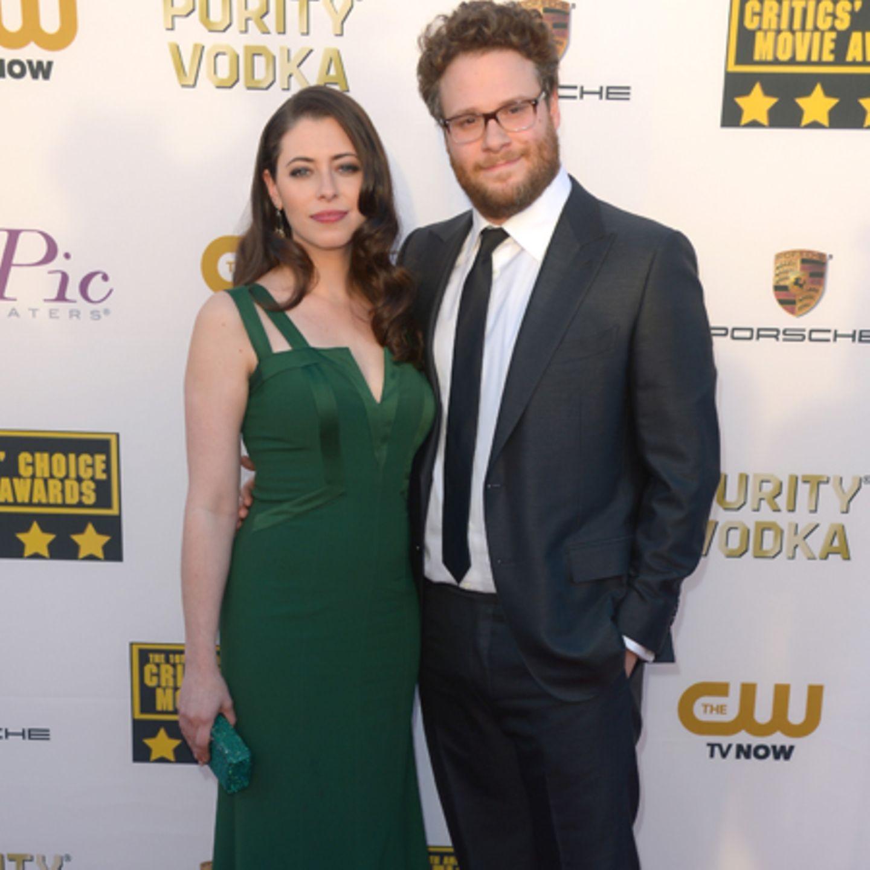 Seth Rogen und Lauren Miller