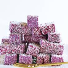 Marshmallows mit Cassis