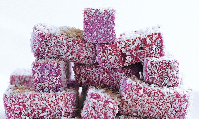 Marshmallows mit Cassis