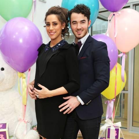 Danielle und Kevin Jonas