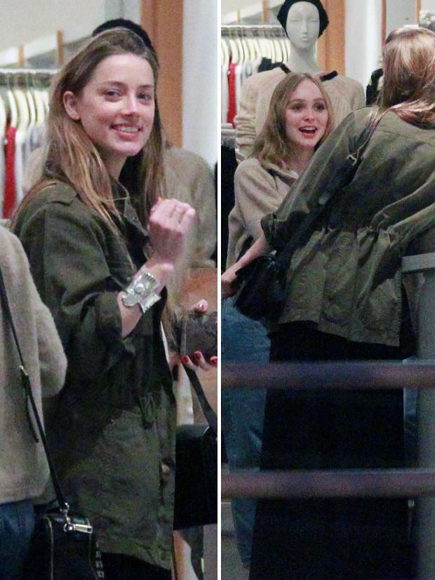 Amber Heard, Lily-Rose Depp