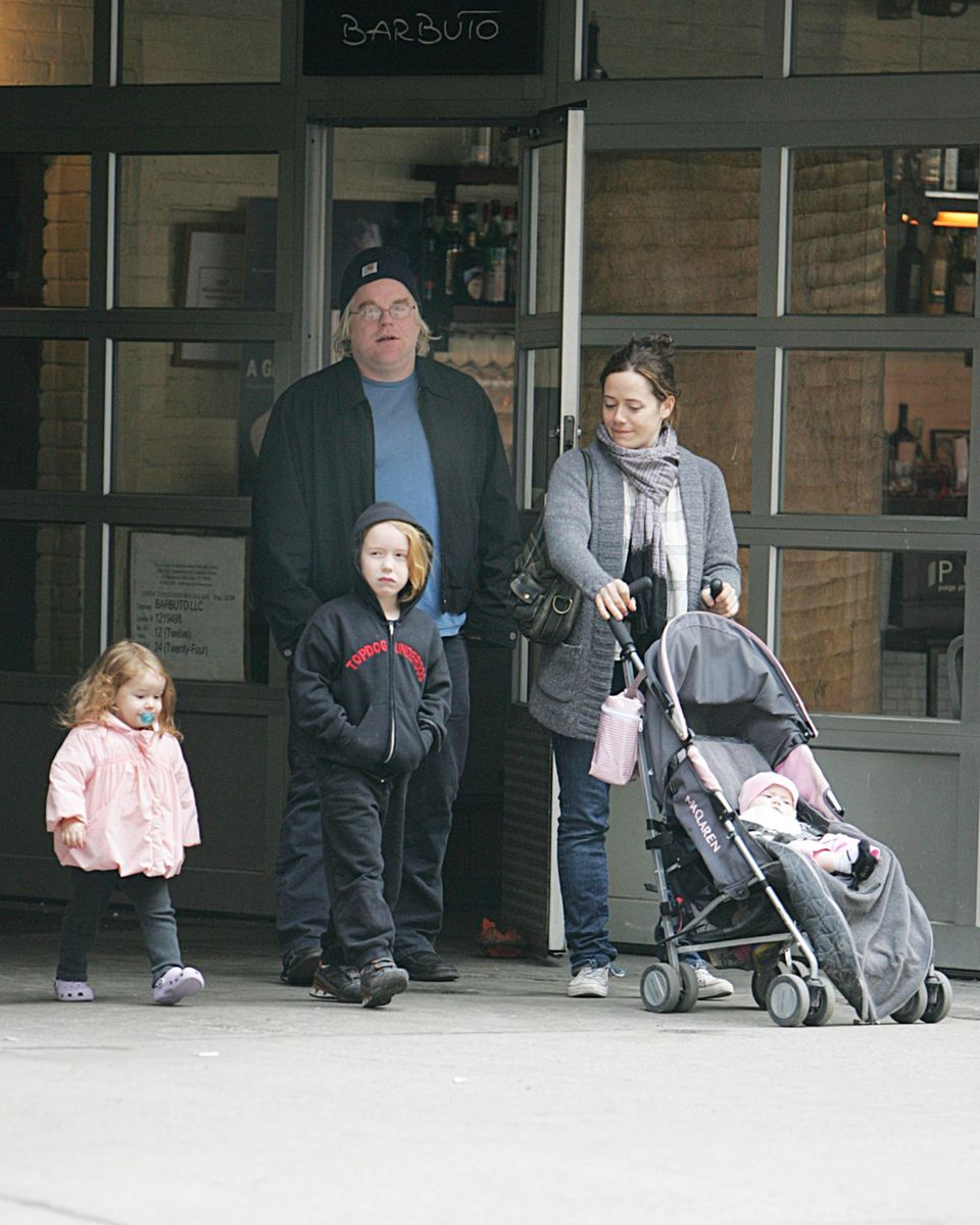 Philip Seymour Hoffman hinterlässt seine Lebengefährtin, Kostümdesignerin Mimi O'Donnell, und die drei Kinder Cooper, Tallulah und Willa.