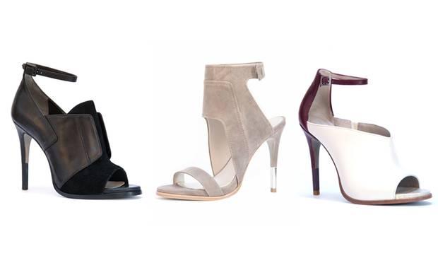 """Die Modelle """"Vella"""", """"Venga"""" und """"Velora"""" von Pour La Victoire entstanden unter der Leitung von Cameron Diaz."""