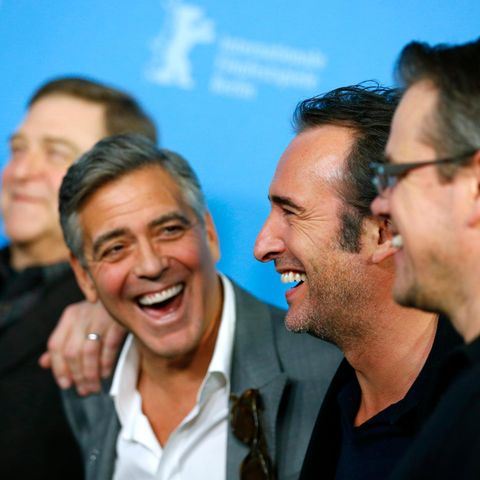 John Goodman, George Clooney, Jean Dujardin, Matt Damon