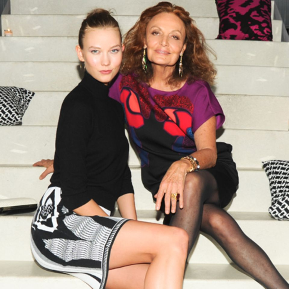 Karlie Kloss + Diane von Furstenberg