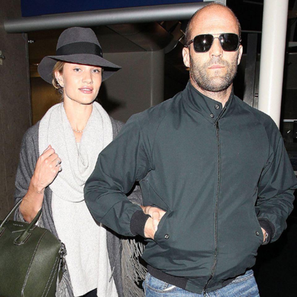 Rosie Huntington-Whiteley + Jason Statham