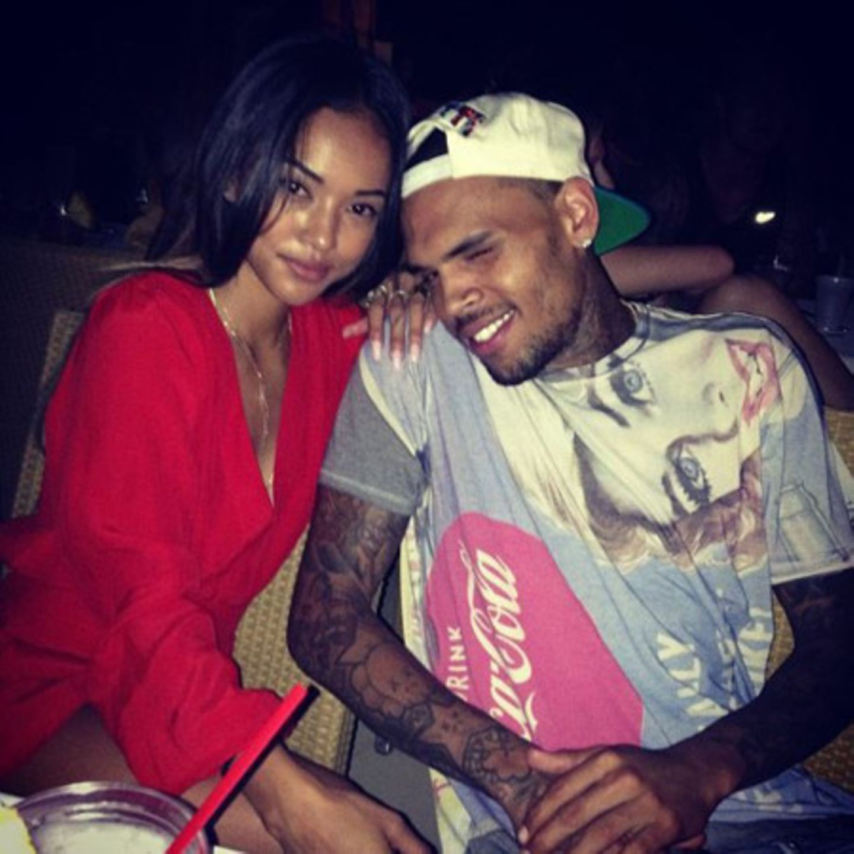 Karrueche Tran + Chris Brown