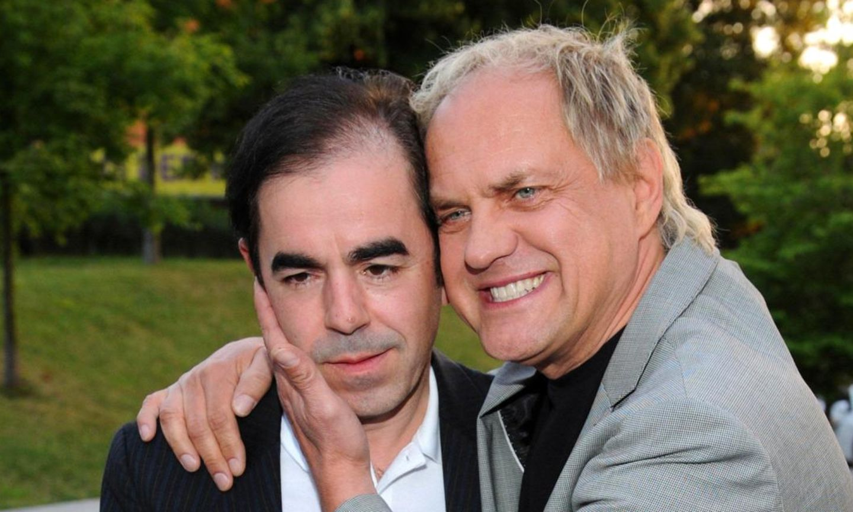 Oscar Ortega Sánchez und Uwe Ochsenknecht
