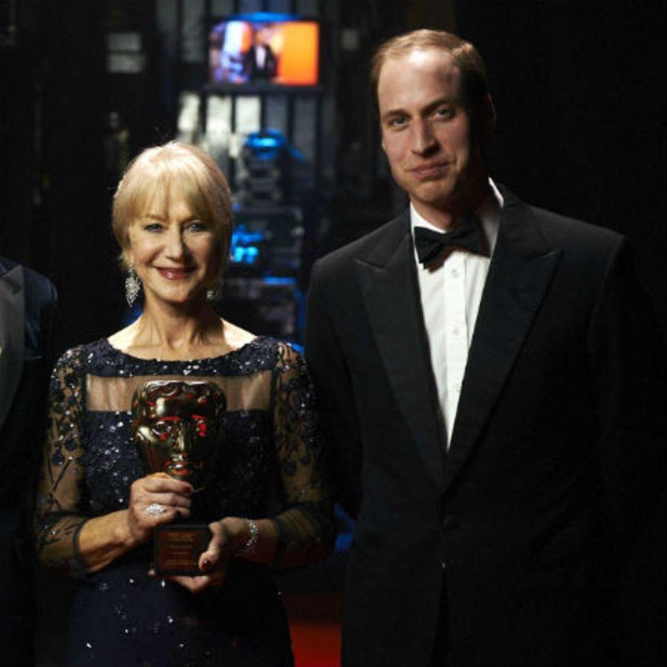 Helen Mirren + Prinz William