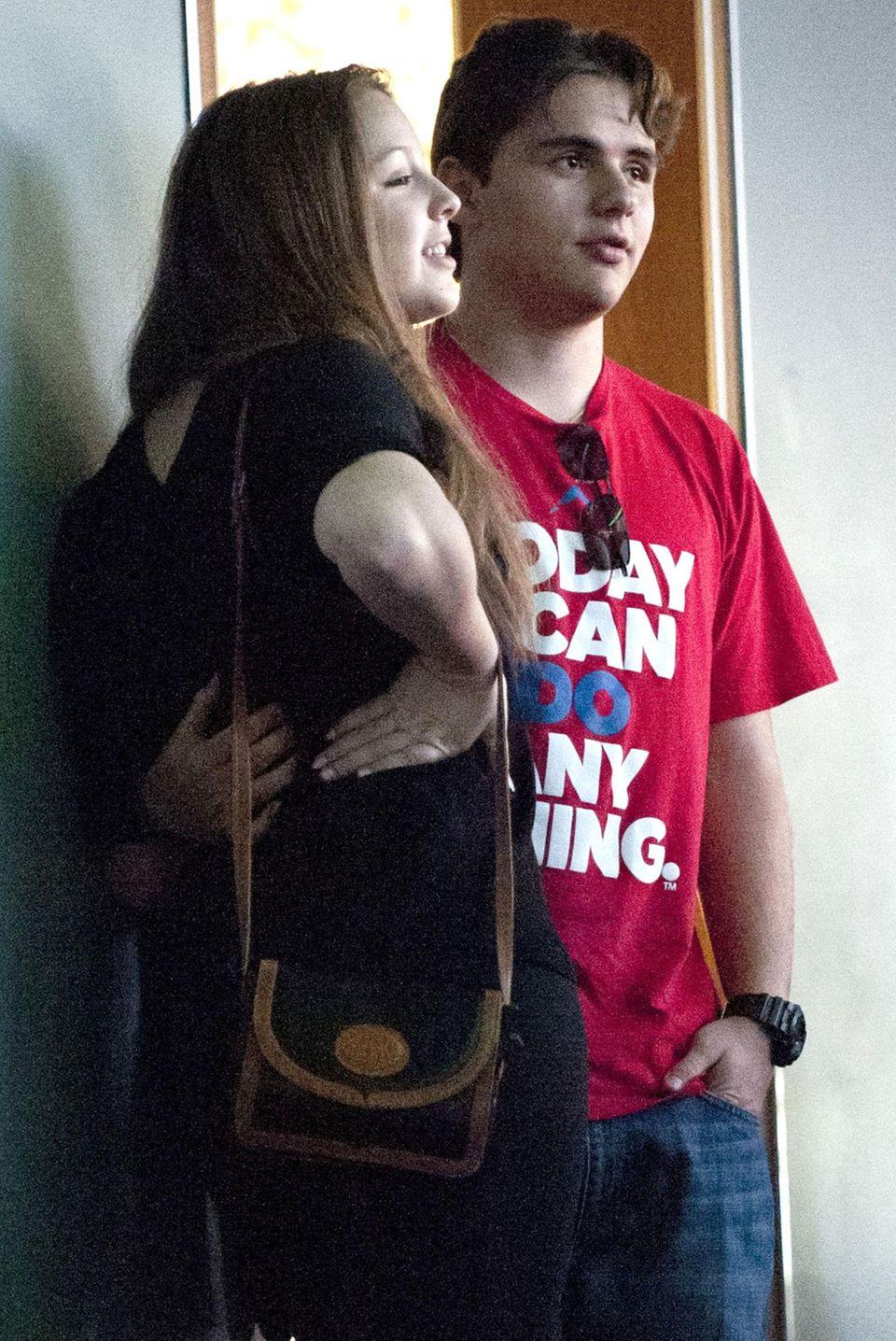 Prince Jackson mit seiner Freundin