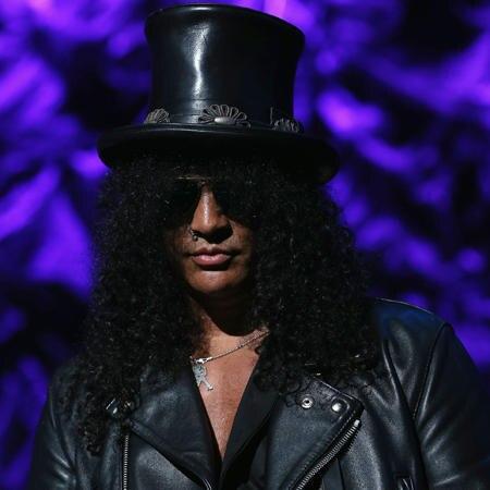 Guns N Roses Gitarrist Altersloser Slash Feiert Seinen 085677ef797