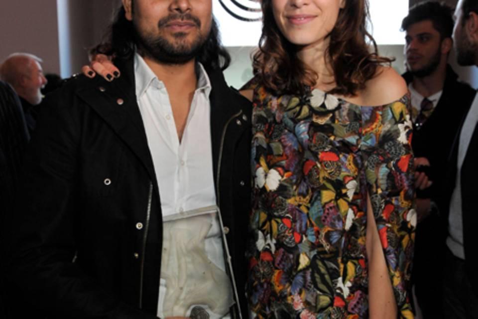 Rahul Mishra + Alexa Chung