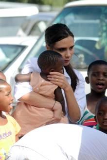 Victoria Beckham ist zu Besuch in Kapstadt, um sich für HIV-Prävention einzusetzen.