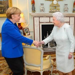Angela Merkel, Queen Elizabeth
