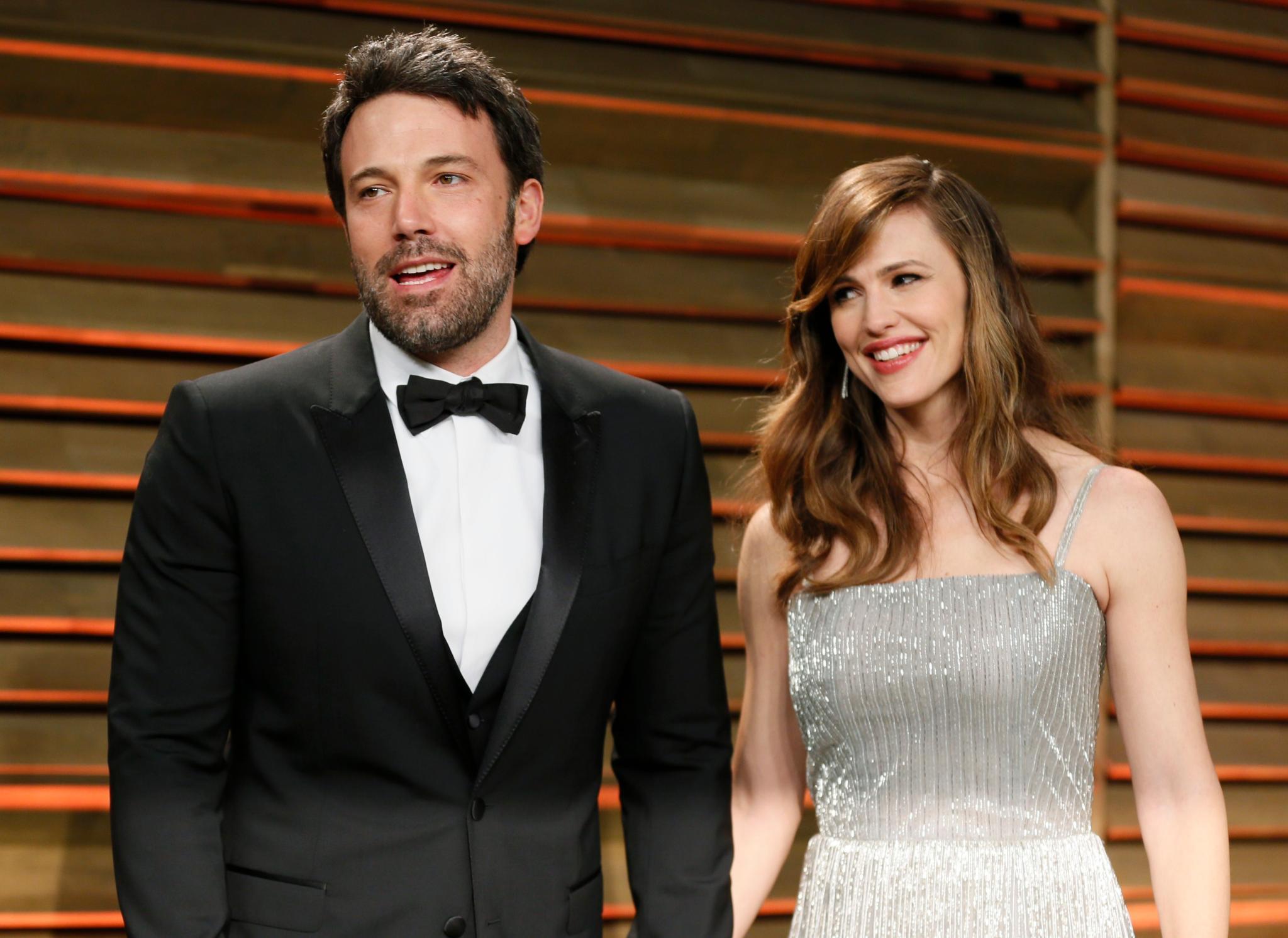 """Ben Affleck und Jennifer Garner feiern nach dem offiziellen Teil gemeinsam bei der """"Vanity Fair Oscar Party""""."""