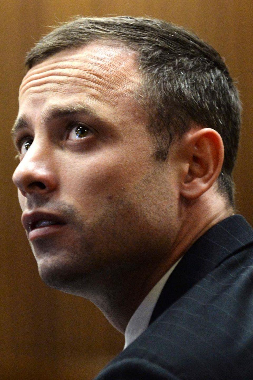 Oscar Pistorius im Gerichtssaal