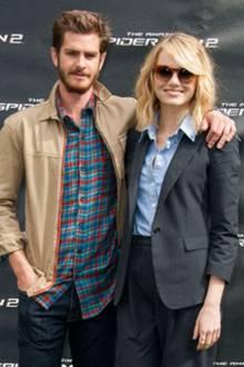 Andrew Garfield + Emma Stone