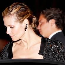 """Heidi Klum und Vito Schnabel verlassen gemeinsam die """"Vanity Fair""""-Party am vergangenen Sonntag (2. März)."""
